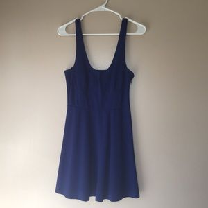 Blue Loose Fitted Dress